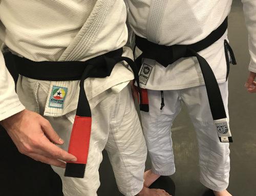 Verse black belts nemen afscheid