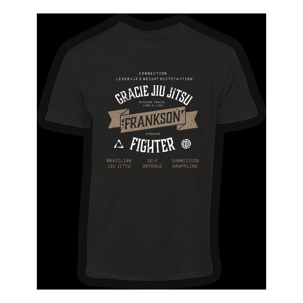 T-shirt-frankson-gracie-jiu-jitsu-gouda-black