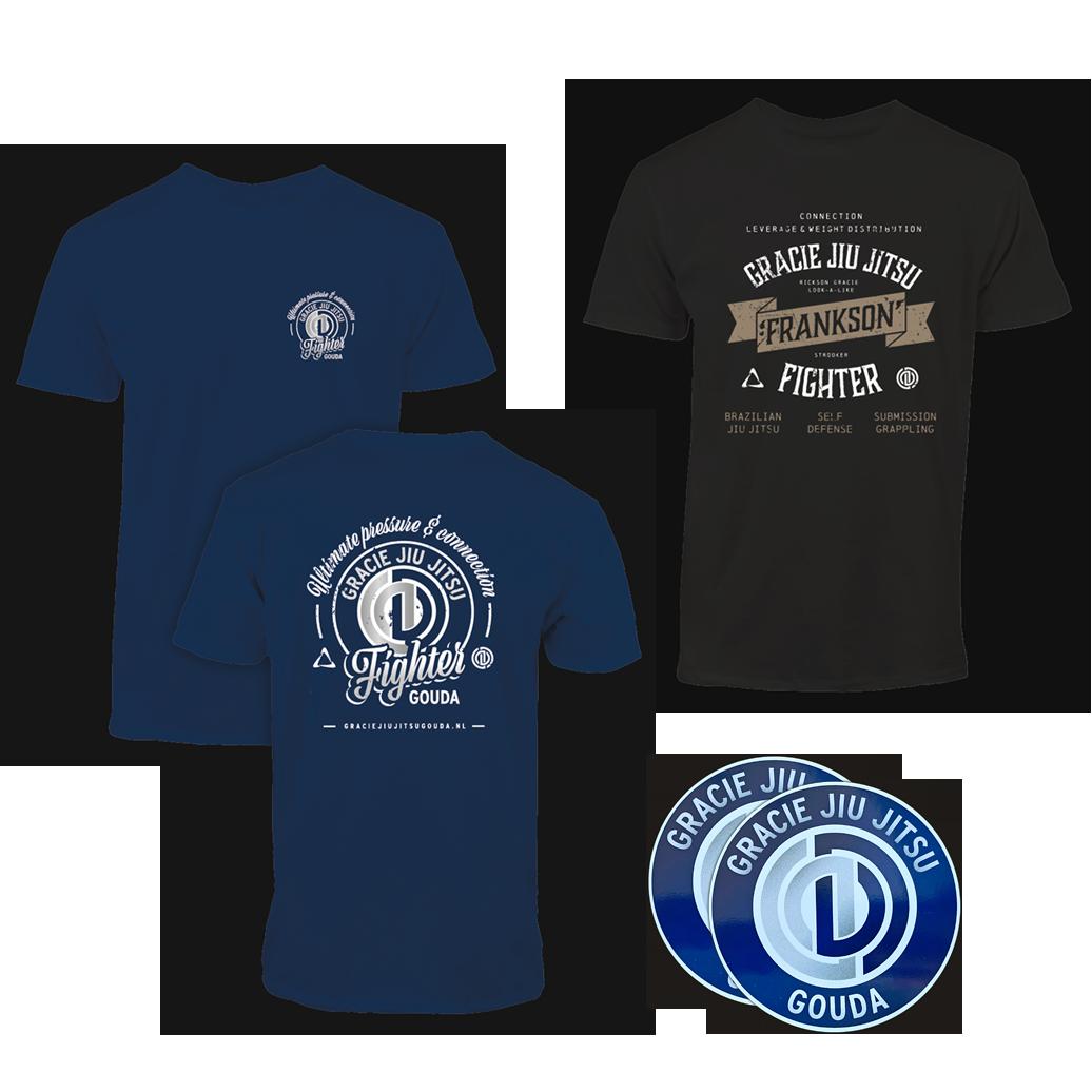 T-shirt-frankson-gracie-jiu-jitsu-gouda-combi-nb