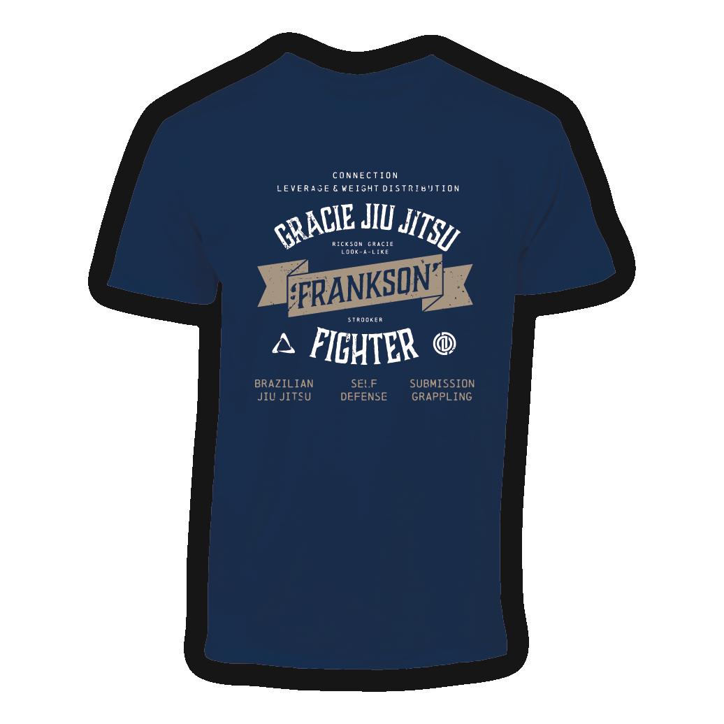 T-shirt-frankson-gracie-jiu-jitsu-gouda-navy