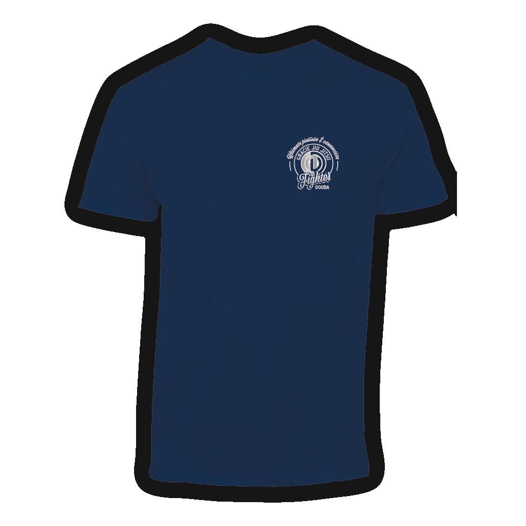 T-shirt-gracie-jiu-jitsu-fighter-gouda-front